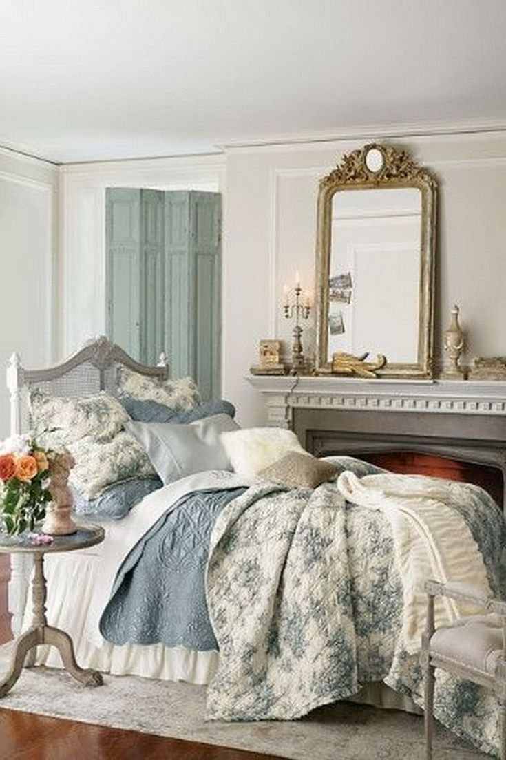 30+ ENDEARING FRENCH COUNTRY BEDROOM DECOR THAT'LL INSPIRE YOU