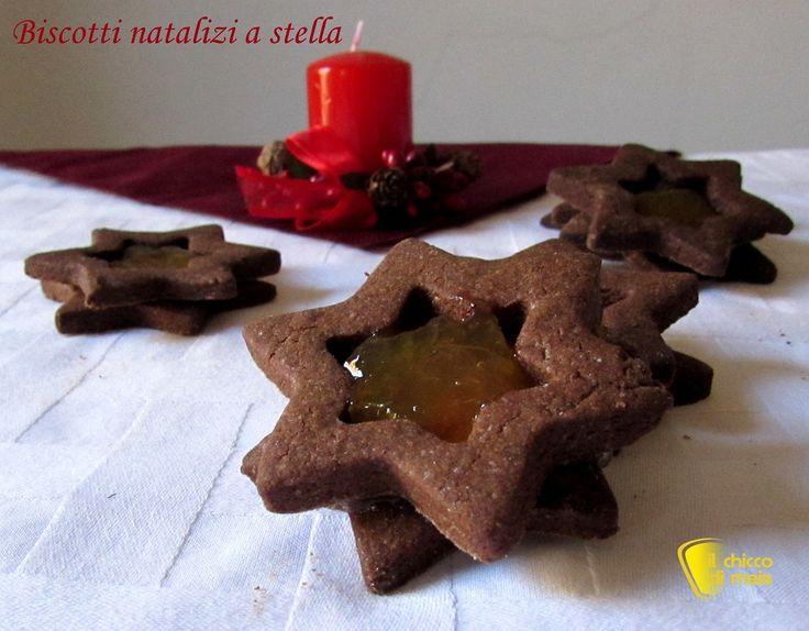 Biscotti natalizi a stella ricetta facile il chicco di mais