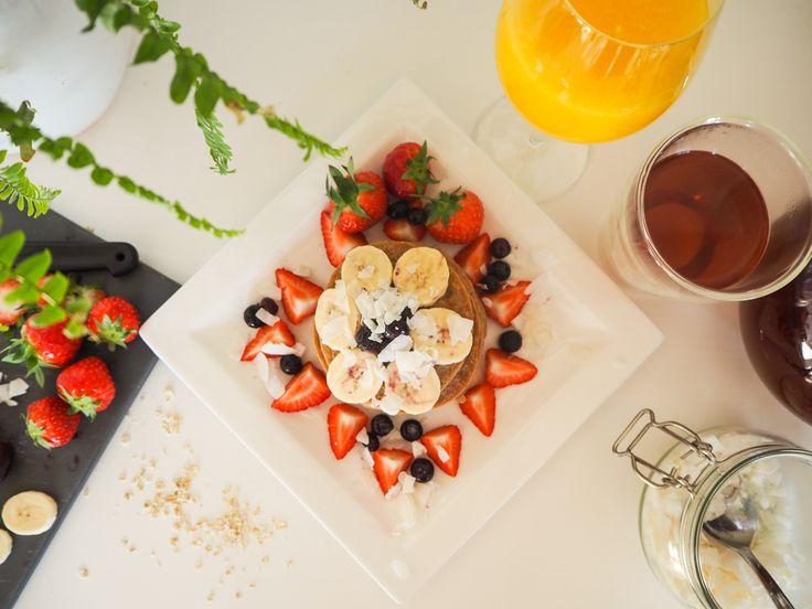 Easy Vegan and Gluten free pancakes