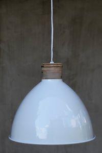 Holz-Kupfer-Metall-Weiss-Haenge-Lampe-Pendelleuchte-modern-Industrielampe-Leuchte