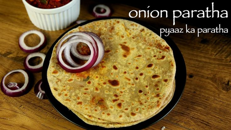 onion paratha recipe, pyaz ka paratha recipe, pyaaz paratha with step by step photo/video. simple indian stuffed flat bread recipe from punjabi cuisine.