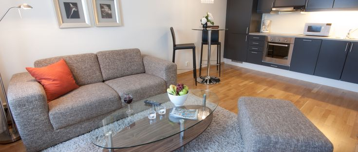 Spacious and conformable apartments for rent in Oslo.