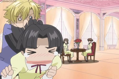 ouran high school funny gifs | ... NOTES: 12 TAGS: #Episode 6 #Ouran High School Host Club #Gif #Tamaki