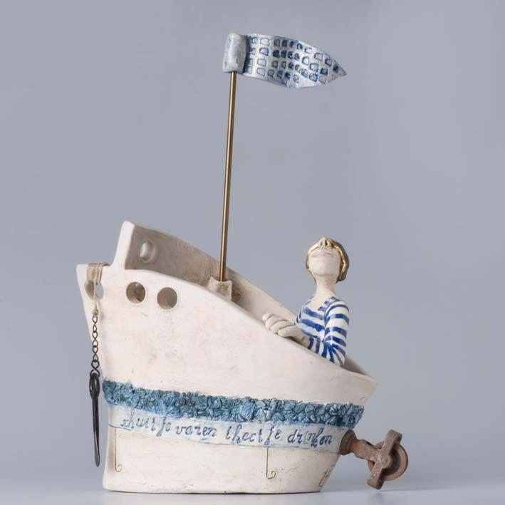 Boat ceramic - wonderful - keramiek