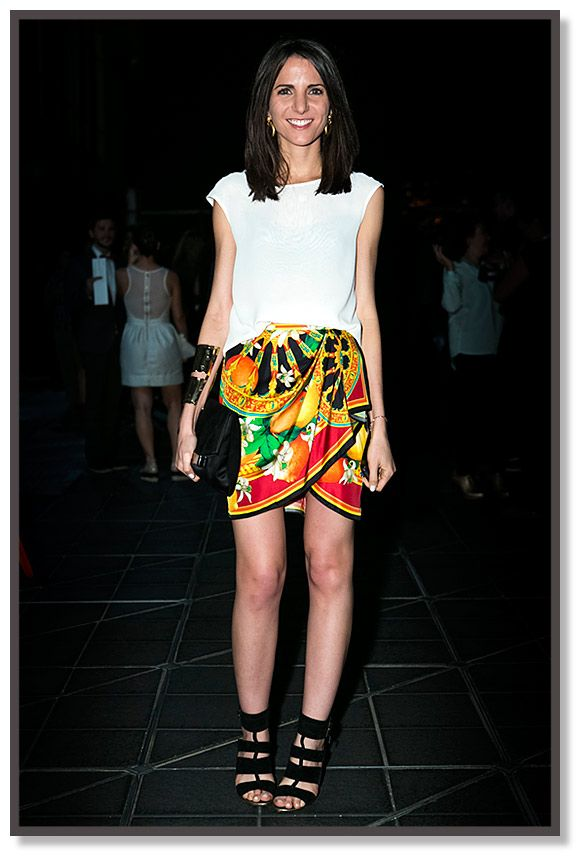 Kelly Talamas - Vogue Latam Director #StreetStyle #Colombiamoda 2013