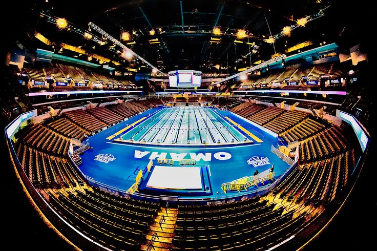 In the summers of 2008 and 2012, the US Olympic Team swimming trials were held at the Century Link Center. The event was a highlight in the city's sports community, as well as a showcase for redevelopment in the downtown area. #Omaha