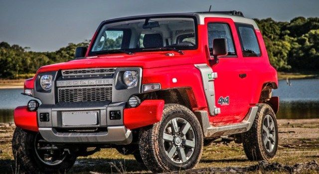 Ford Troller T4 Off Road Suv Is A South American Bronco Suv