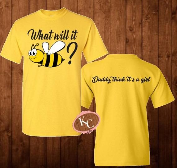 What Will It Bee Gender Reveal Bee Baby Shower Shirt Coed Etsy Gender Reveal Shirts Bee Gender Reveal Bee Baby Shower