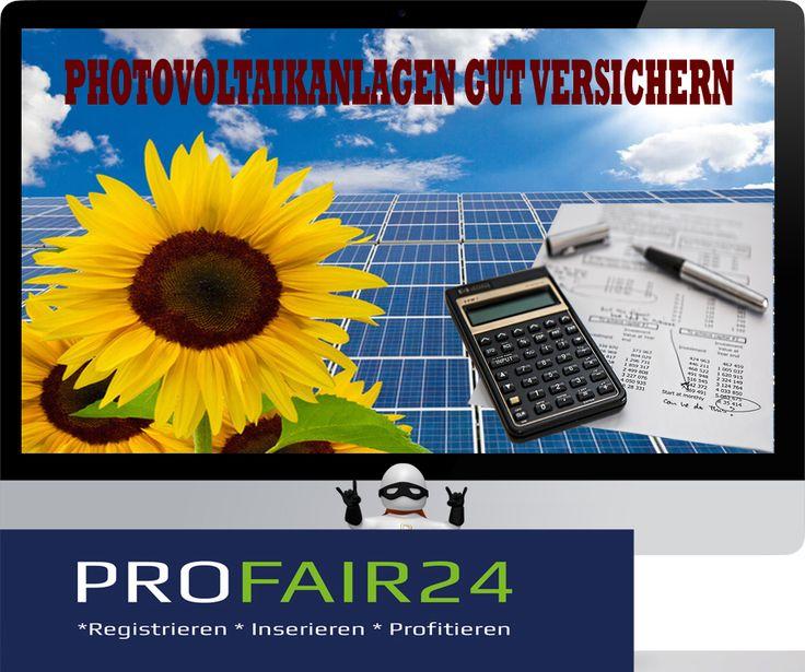 Hier können Sie #kostenlos einen #Vergleich für Ihre #Photovoltaik #Versicherung oder #Photovoltaikversicherung #rechnen.Ein #Photovoltaik #Versicherung #Vergleich der #verschiedenen #Anbieter und #Tarife der #Photovoltaik-#Versicherung lohnt sich.