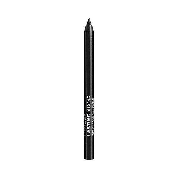 Maybelline Eye Studio Lasting Drama Waterproof Gel Pencil -  Glazed... ($6.99) ❤ liked on Polyvore featuring beauty products, makeup, eye makeup, eyeliner, glazed toffee, maybelline, maybelline eyeliner, maybelline eye liner, gel eye liner and gel eyeliner