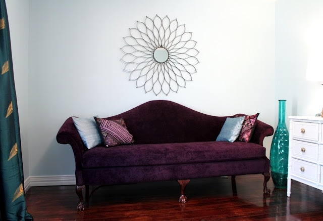 Stephen & Brittany: Couch makeover!