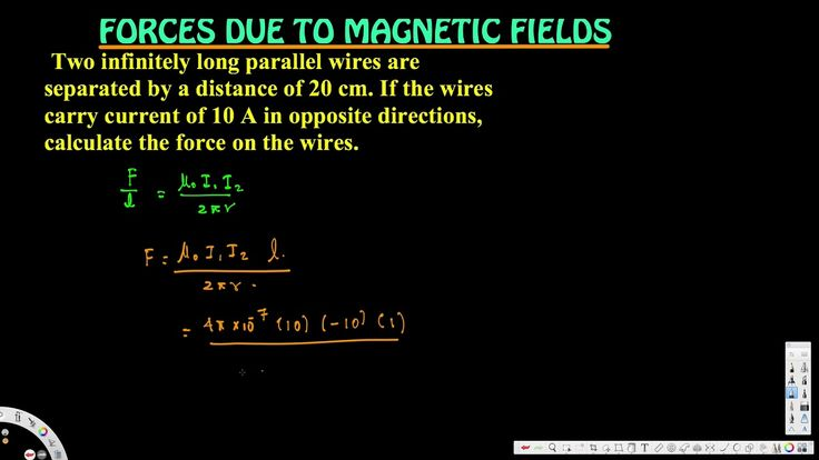 calculate the force on the wires. - Forces due to Magnetic Fields - Elec...