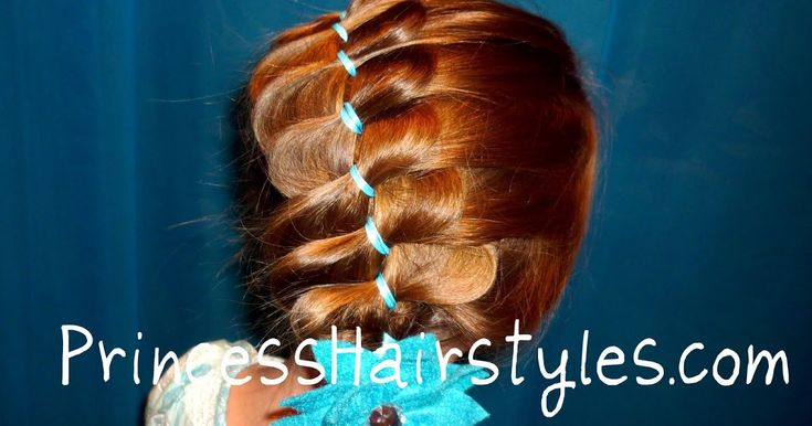 Pleated Ribbon Braid Hairstyle Video | Hairstyles For Girls - Princess Hairstyles
