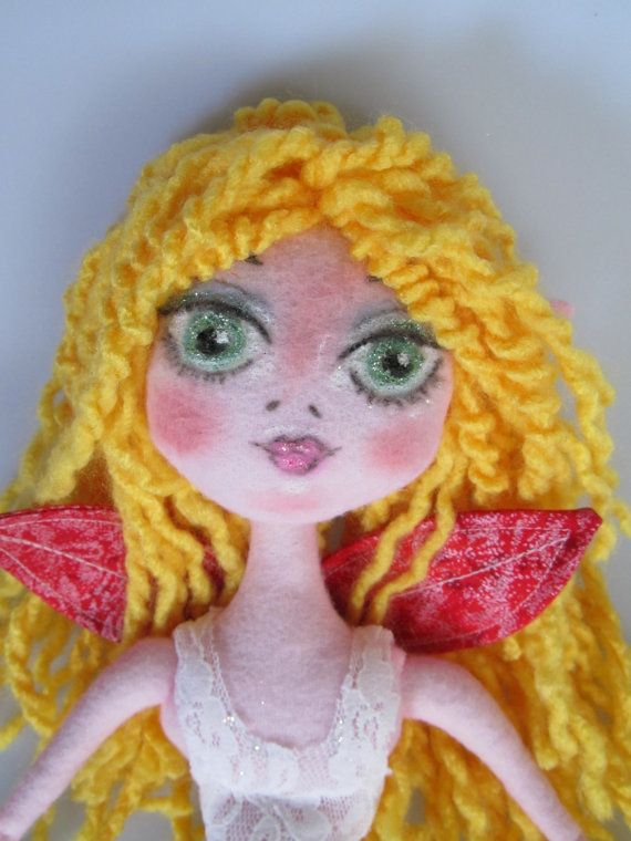 FAIRY Rag Doll Child friendly soft dollooak by Kaeriefaerie52, $45.00Fairies Rag, Child Friends, Soft Dollooak, Art Dolly, Things Art, Rag Dolls, Faeries House, Dolls Child, Friends Soft