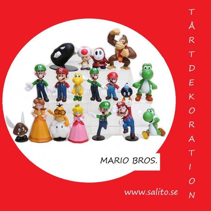 Tårtkalas med Mario och Luigi