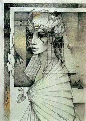 """isis"" by Susan Seddon Boulet, 1983"