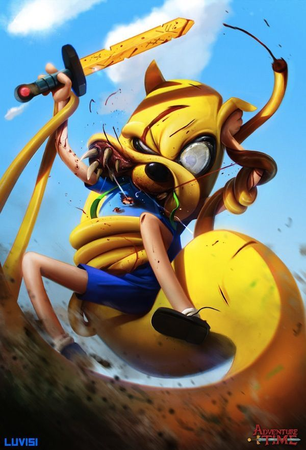 Adventure Time #Fin #adventuretime #jake