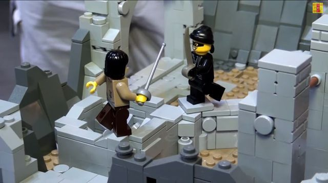Celebrate romance with detailed Lego versions of famous Princess Bride scenes · Great Job, Internet! · The A.V. Club