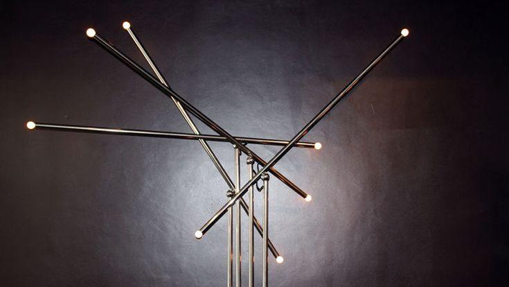 Moscheni mobili ~ Sergio moscheni pour selenova ed arteluce rare grand lampadaire