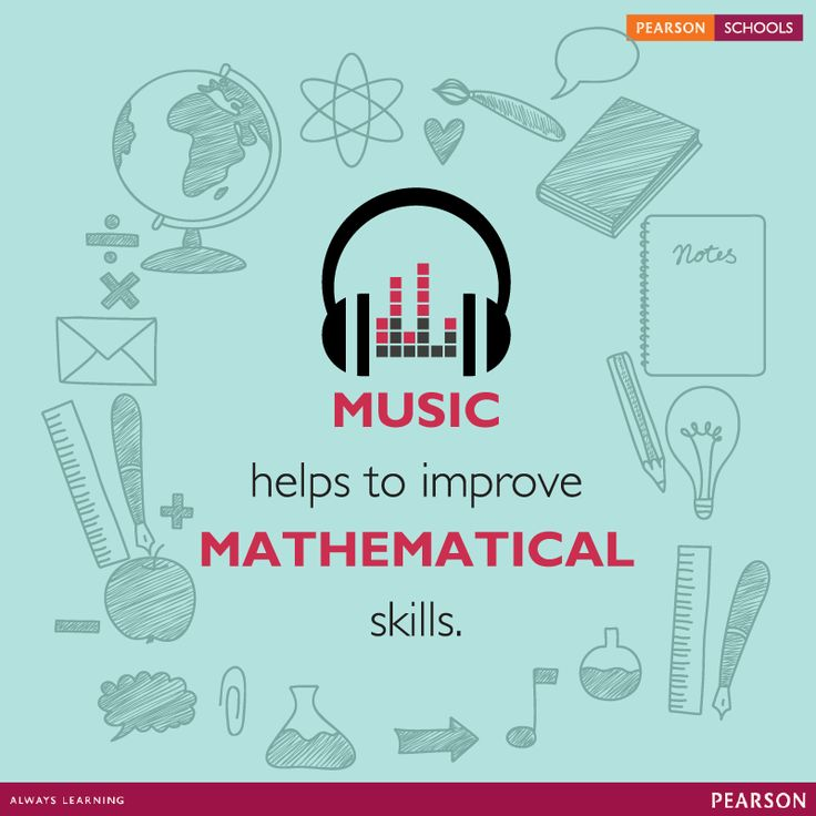 Music and math are highly intertwined. By understanding beat, rhythm, and scales, children are learning how to divide, create fractions, and recognize patterns.#LearningMadeEasy