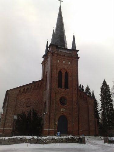 Someron kirkko - rakennettu vuosi 1859