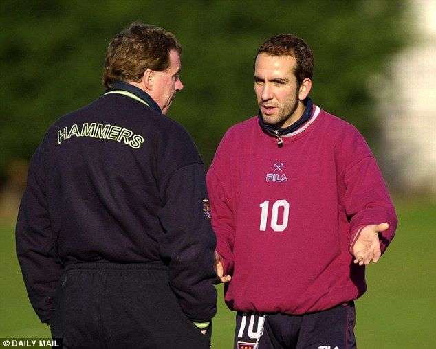 An influx of foreigners, like Paolo di Canio (right), ensured that British managers change...
