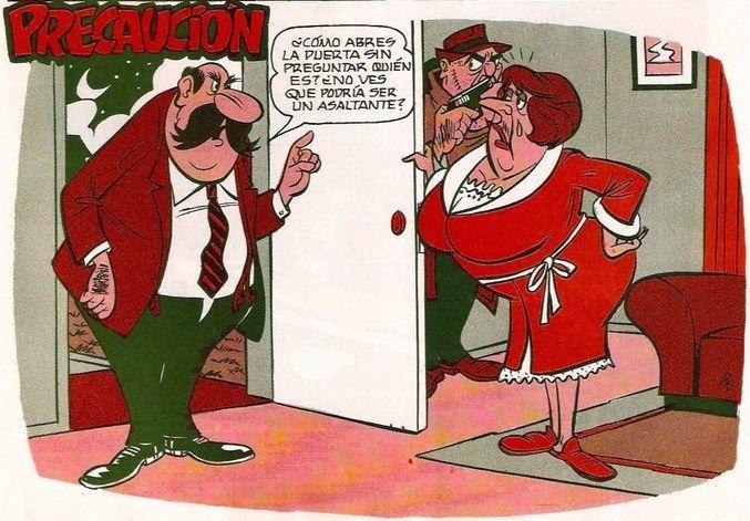 Cuidado con abrir la puerta Treme! | Doña Tremebunda ...
