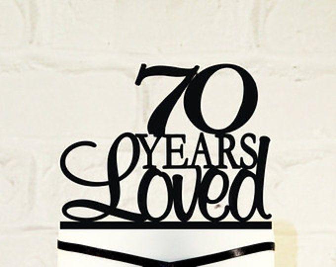 70th Topper,Glitter 70 Cake Topper,70 Cake Topper,seventy B Seventy Cake Topper