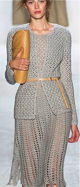 Michael Kors ♪ ♪ ... #inspiration #crochet #knit #diy GB