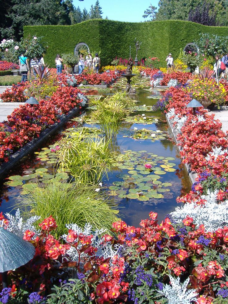 160 best images about italian garden ideas on pinterest - Best time to visit butchart gardens ...