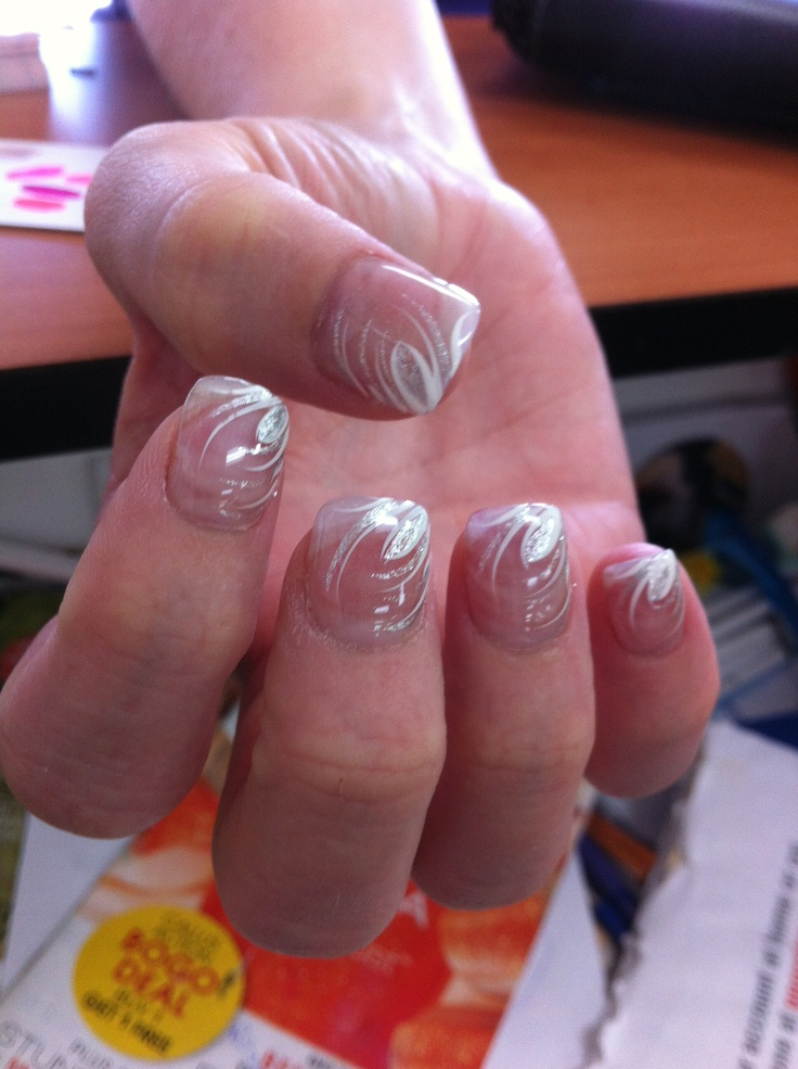 13 best Clear nail design images on Pinterest | Clear nail designs ...