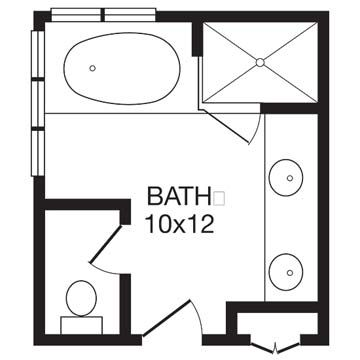 Best 25 Master Bathroom Plans Ideas On Pinterest  Master Suite Awesome Small Bathroom Plans Shower Only Design Inspiration