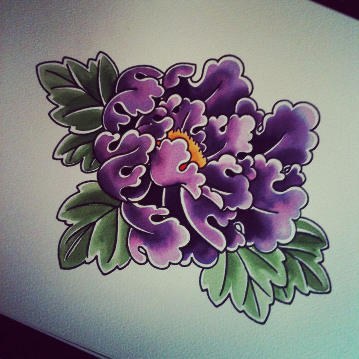 1000 Ideas About Peonies Tattoo On Pinterest: Pur-peony.gif (900×900)