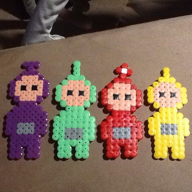 Teletubbies hama beads by annalnk0