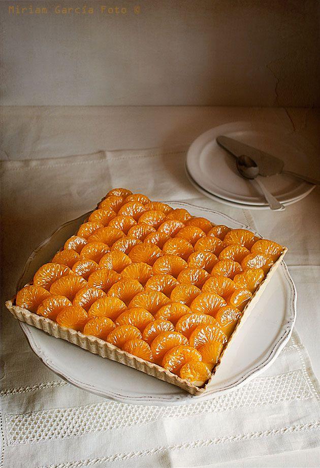 Tarta de naranja / orange tart | El invitado de invierno