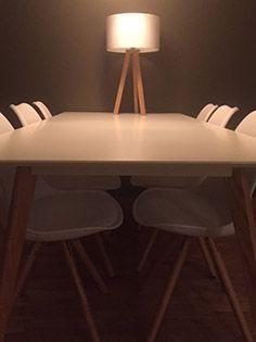 28 best meubles de salle manger alterego design images on pinterest furniture room and chairs. Black Bedroom Furniture Sets. Home Design Ideas