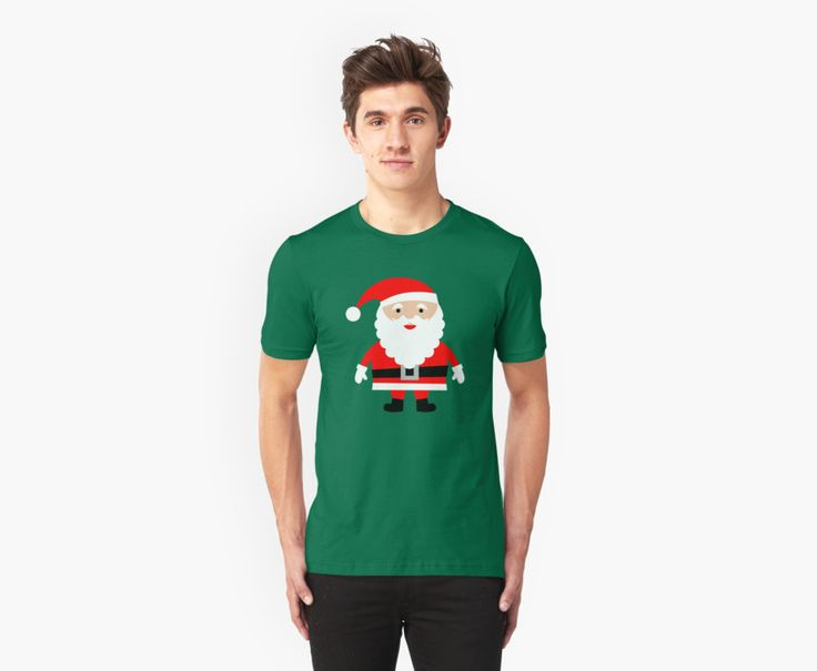 Cute Santa. Do you love Christmas like i do? If so you will love this Cute Santa T-Shirt. This Cute Santa T-Shirt is sure to get you in the Christmas spirit. Or why not give this Cute Santa T-Shirt to somebody as a different gift?