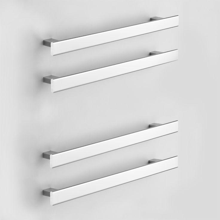 Rogerseller Fold Single 750 Heated Towel Rails - Rogerseller