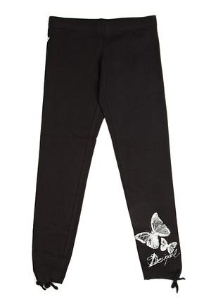DESIGUAL - Girls' Tacualine Legging  (black)