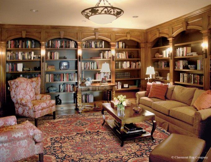 Antique Serapi Carpet Provides The Foundation For Our