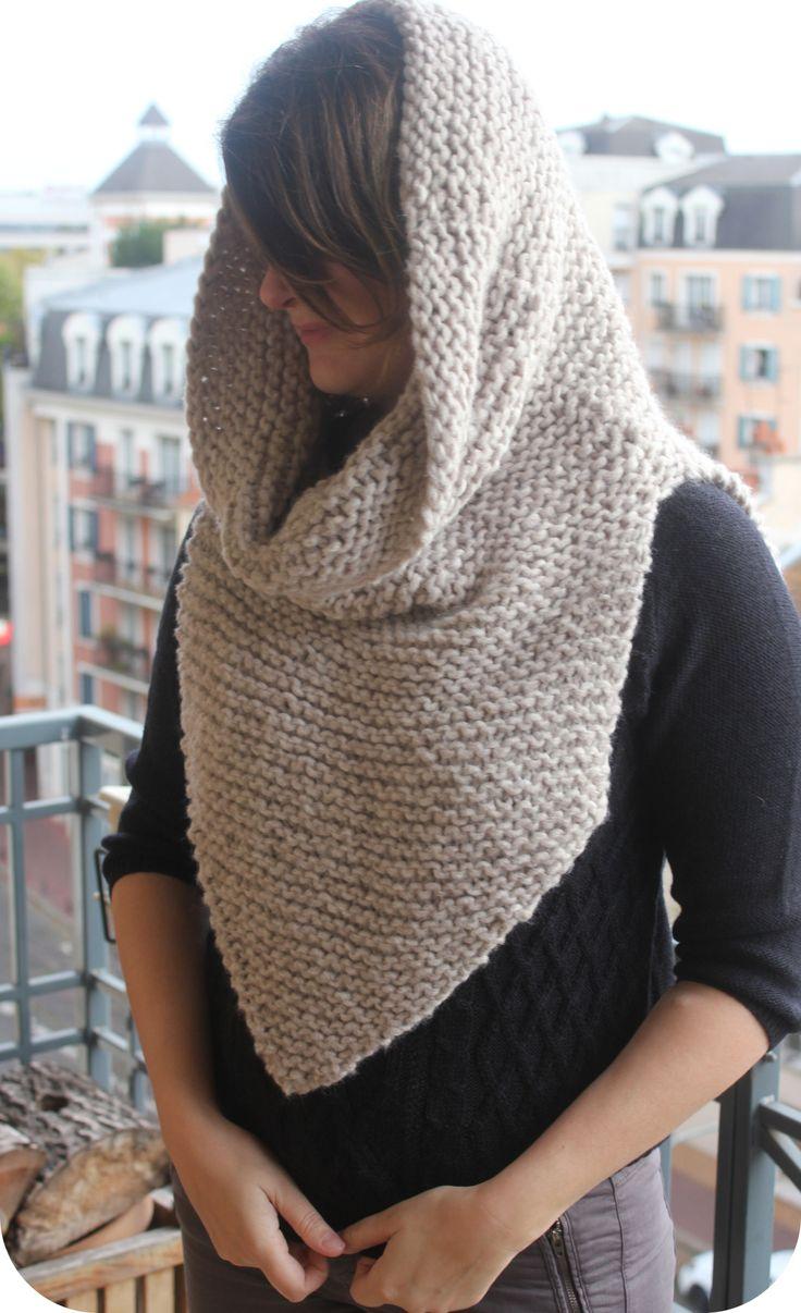 Modèle « Armor Scarf » de Alexandra Tavel Tricoté en laine « North » de chez Katia par @emilie94410