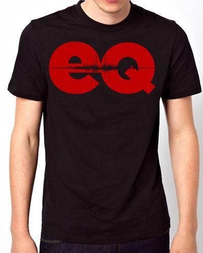 EQ Magazine Chimaira Red Logo Men Short Sleeve T-Shirt