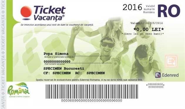 Bugetarii vor primi de la 1 iulie un singur voucher de vacantă în valoare de 1.450 lei, a declarat ministrul Turismului, Mircea-Titus Dobre la Târgul de Turism al României