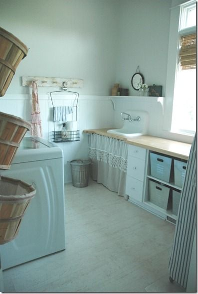 Could my laundry room ever look like this?