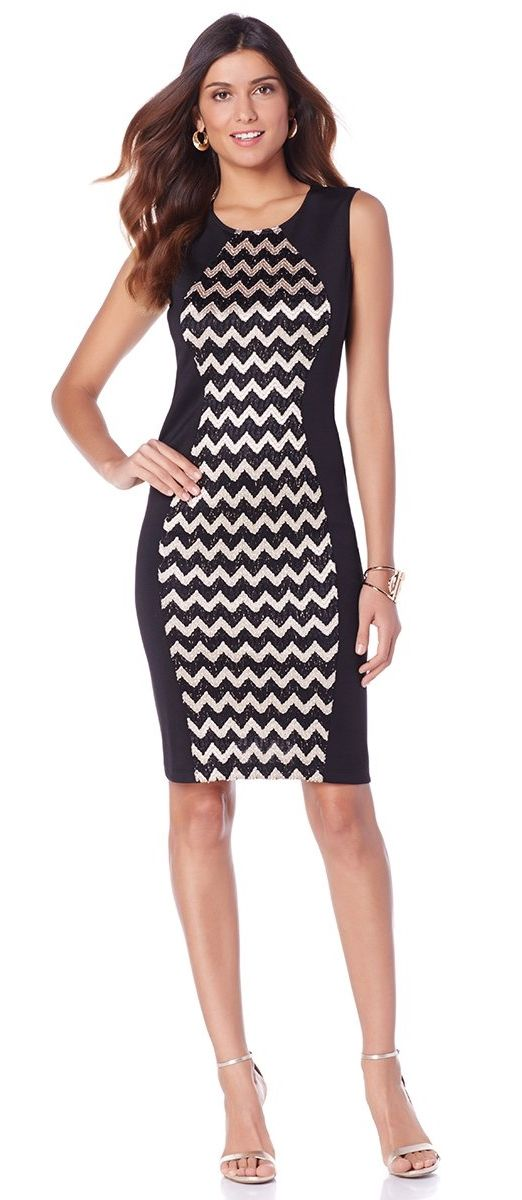 This chic dress by Brittny Gastineau is a go-to versatile dress. Pair it with a blazer for work, or add strappy sandals and a blush cardigan for a baby shower... the styling possibilities are endless!