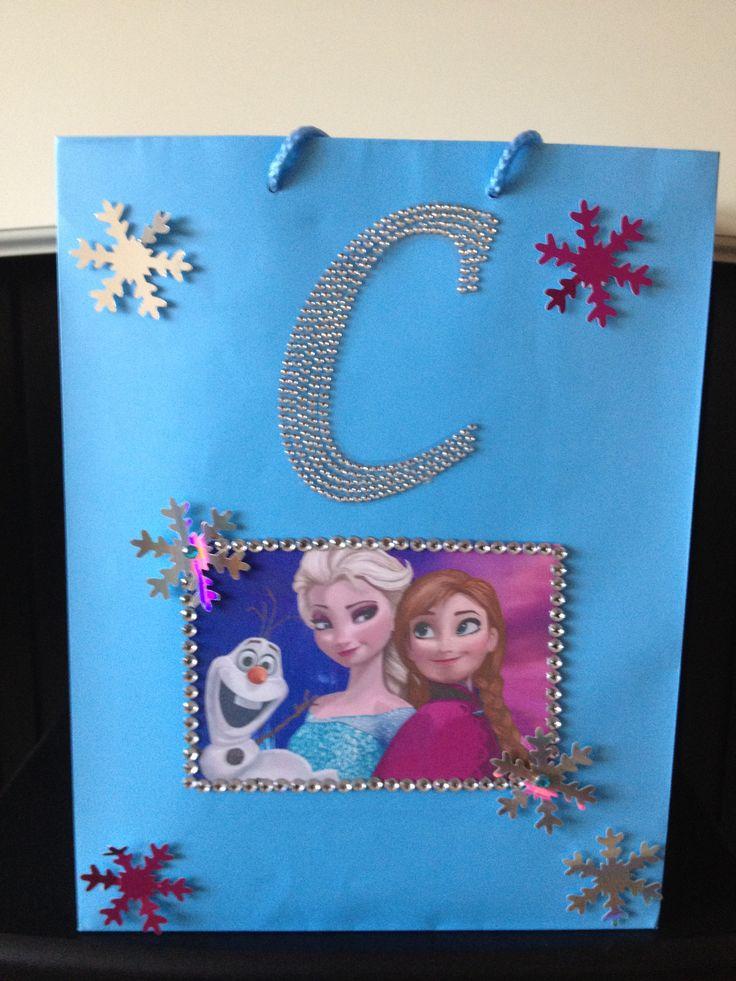 Frozen party bag x