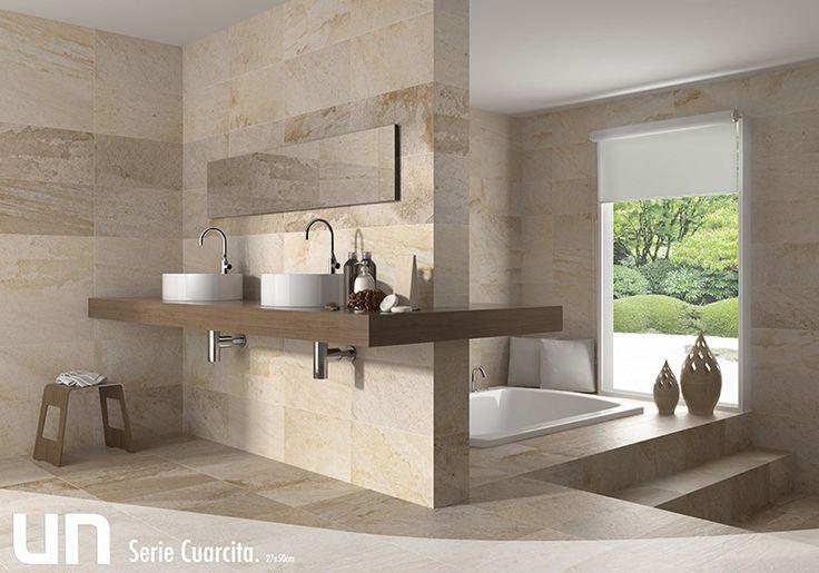 Resultado de imagen para revestimientos para baños simil piedra