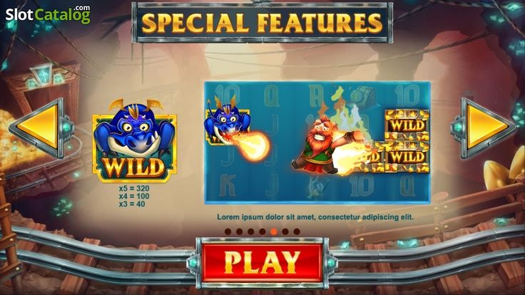 Screen5. Treasure Mine (Video Slot from Red Tiger)