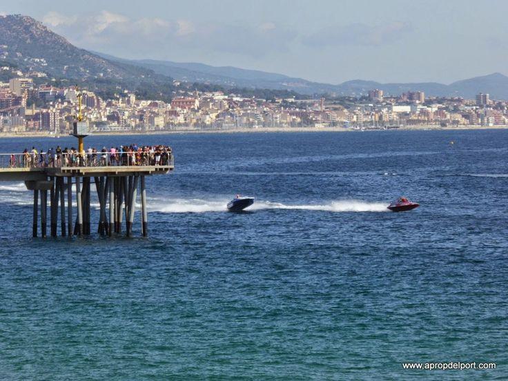 Campionat del Món de Motonàutica a Badalona 11 i 12 d'octubre