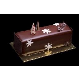 Laurent Bernard Chocolatier Chocolate Pear log cake Small (4-6 pax) - Christmas Cakes - Christmas Collection 2012
